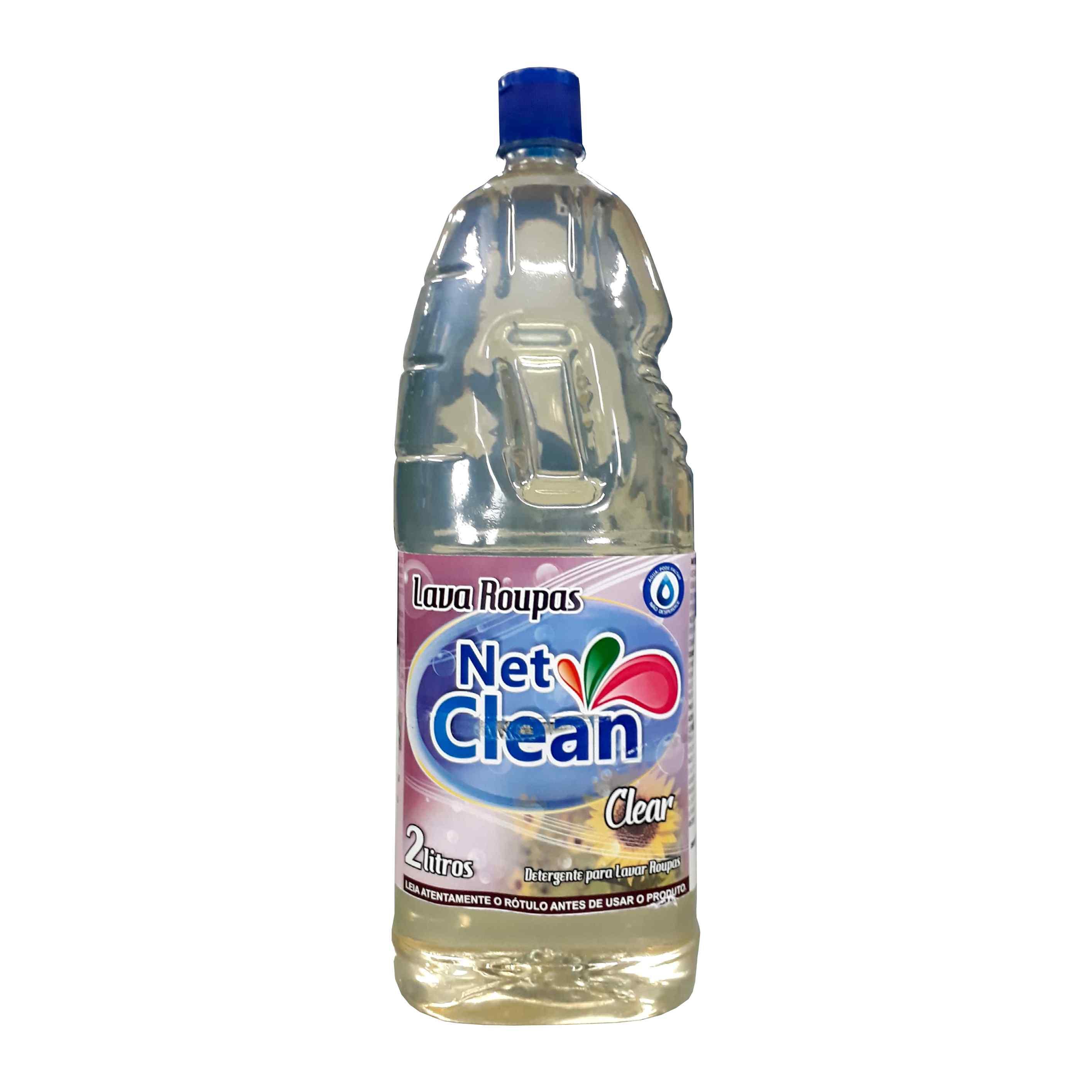DETERGENTE LAVA ROUPAS - CLEAN NETCLEAN 2L